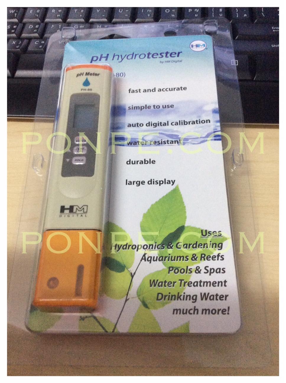 pH meter PH-80 HM Digital