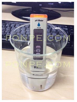การใช้งาน pH meter
