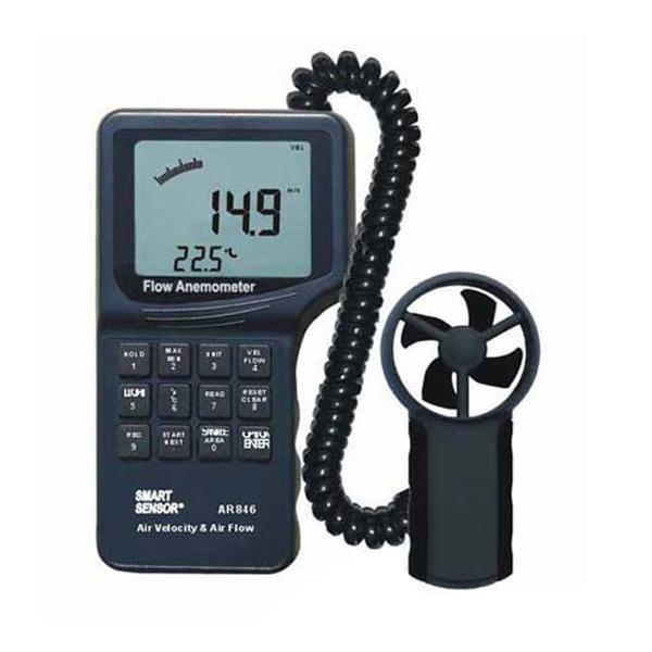 AR846 Smart Sensor Wind Speed Meter