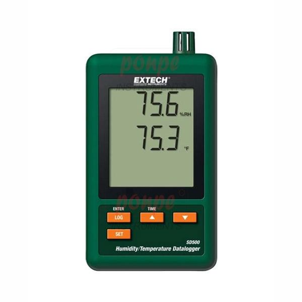 SD500: Humidity/Temperature Datalogger + SD CARD