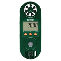 Compact Hygro-Thermo-Anemometer with UV Light Sensor EN150